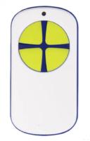 универсальный пульт для ворот PT 2124 белый с желтыми кнопками