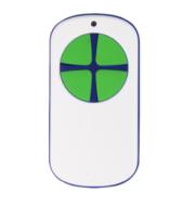 универсальный пульт для ворот PT 2124 белый с зелеными кнопками