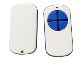 универсальный пульт для ворот PT 2124 белый с синими кнопками