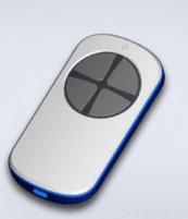 универсальный пульт для ворот PT 2124 белый с серыми кнопками