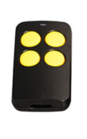 универсальный пульт для ворот PT 2110 черный с желтыми кнопками
