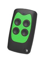 универсальный пульт для ворот PT 2111 черный с зелеными кнопками